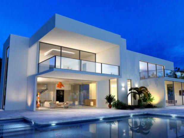 casas-de-acero. Luxury